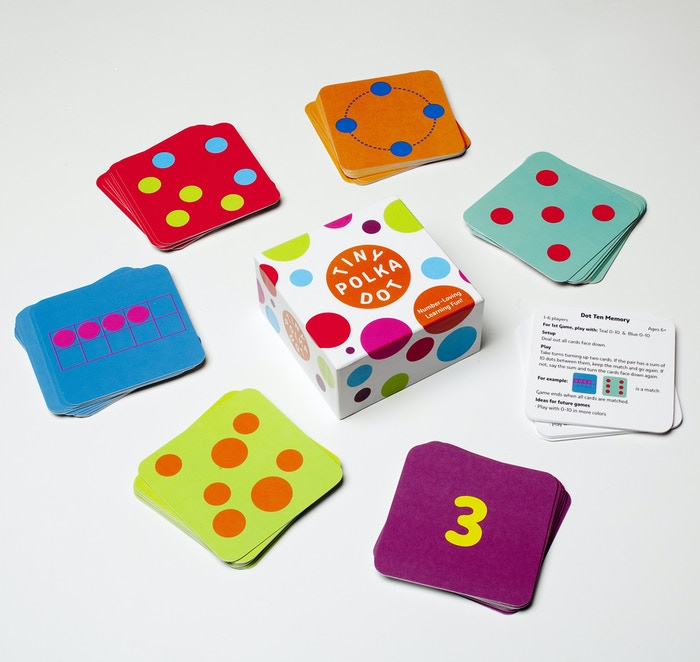 Tiny Polka Dot — The colorful math game for young kids by