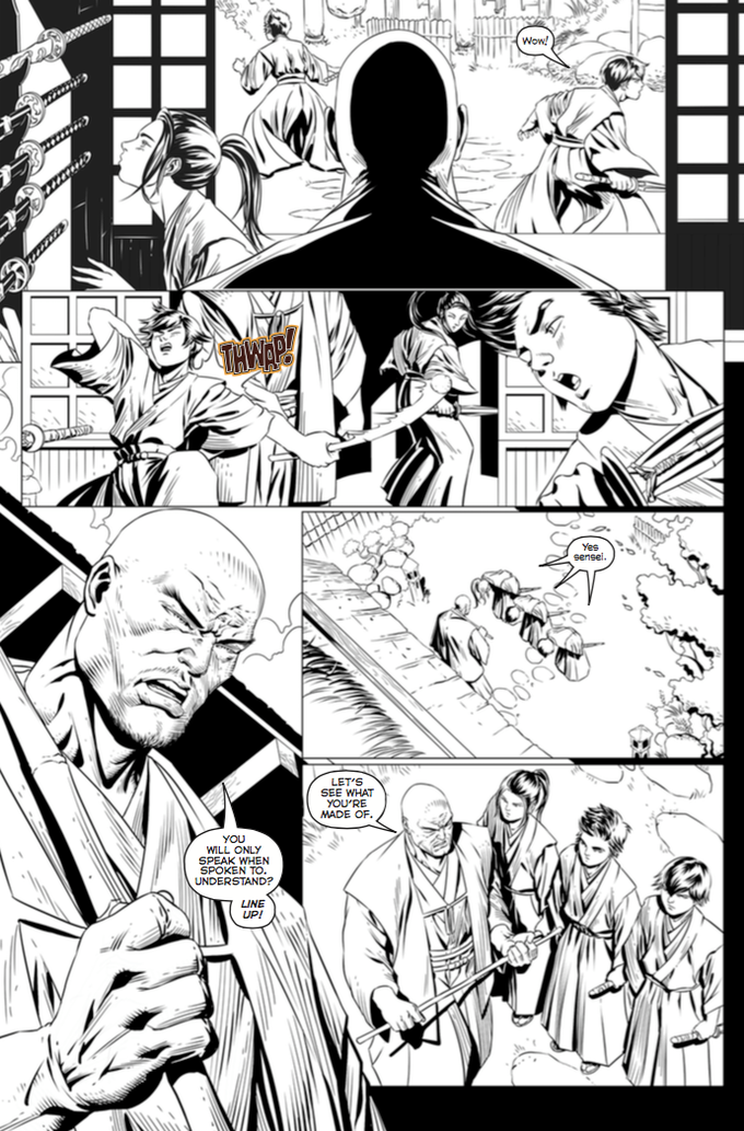 The Ronin #2 Preview