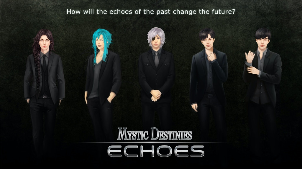 Help us finish funding our dark epic, the urban fantasy romance visual novel, Mystic Destinies: Echoes!