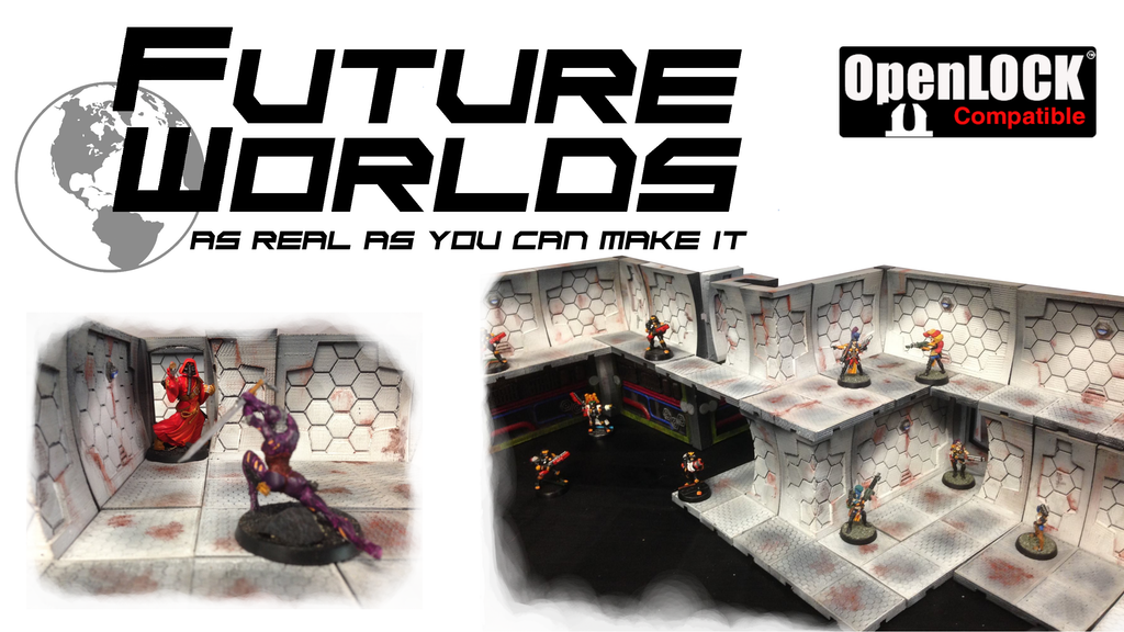Future Worlds: Modular Sci-Fi Terrain for 28mm figures project video thumbnail
