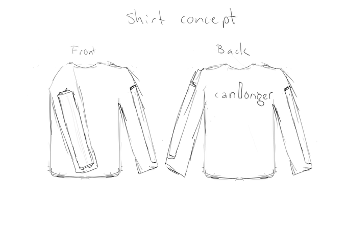 Early t-shirt concept