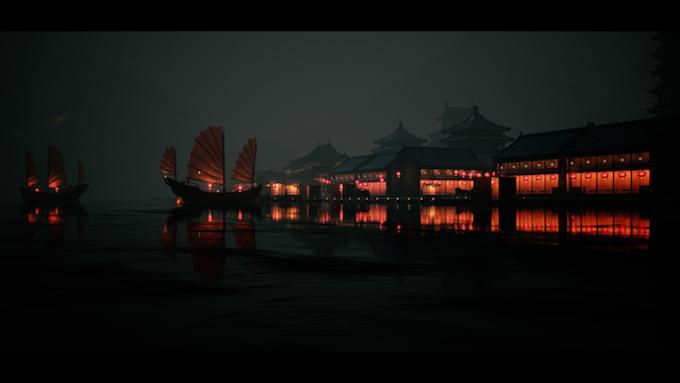 (In-game screenshot) Hong Kong