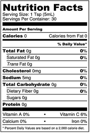 Taco Fuego Nutritional Information