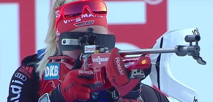 Usage by a biathlon professional