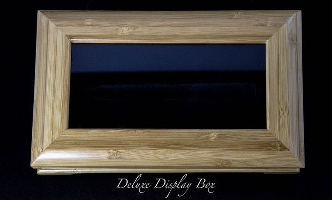 Deluxe Display Box Included with Emperor Pen - Shown in Bamboo