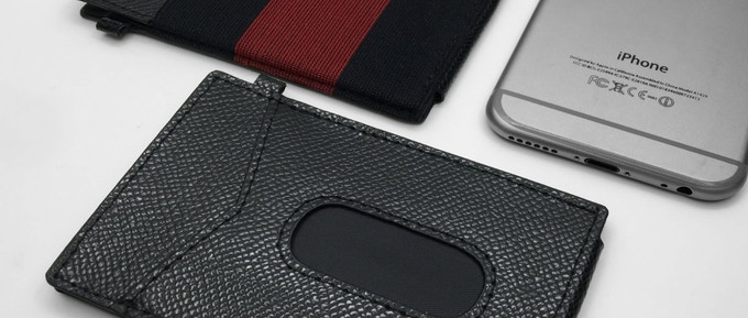 cossgrain leather x-flex slim wallet