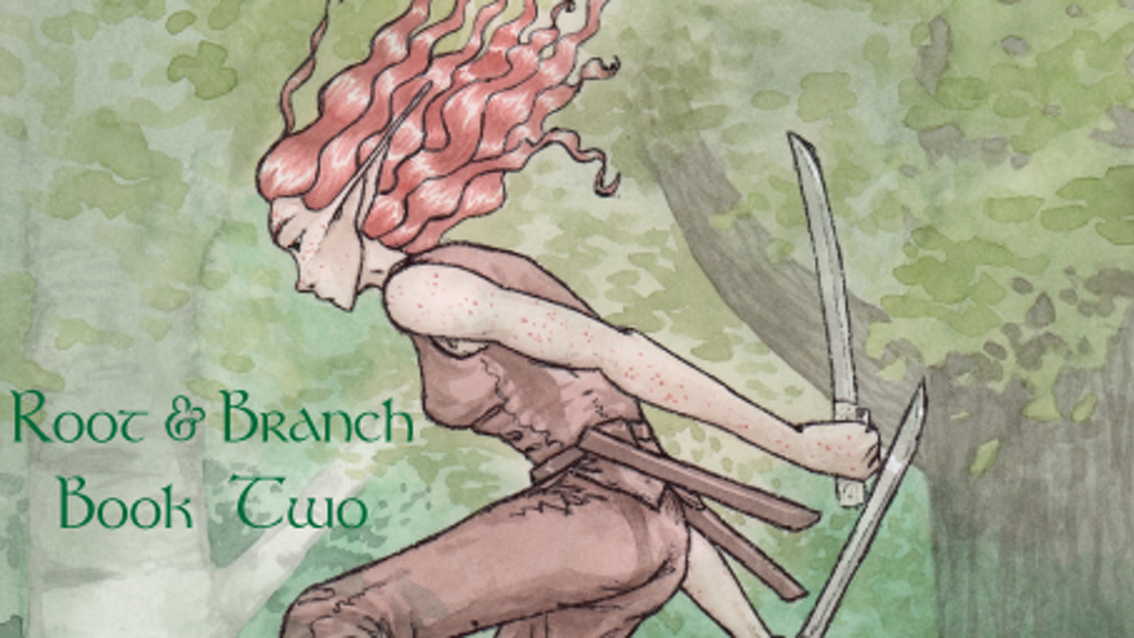 Printing Root & Branch - Book 2 - A Webcomic Graphic Novel project video thumbnail