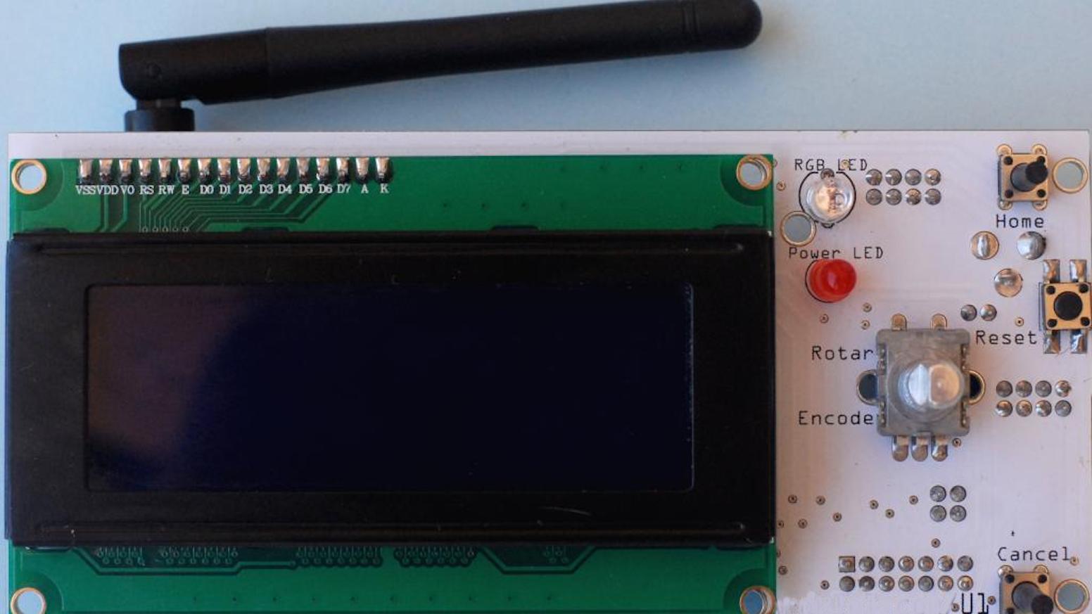 InvIoT U1, 12-in-1 board  (Arduino-compatible) by Dimitri Synodinos