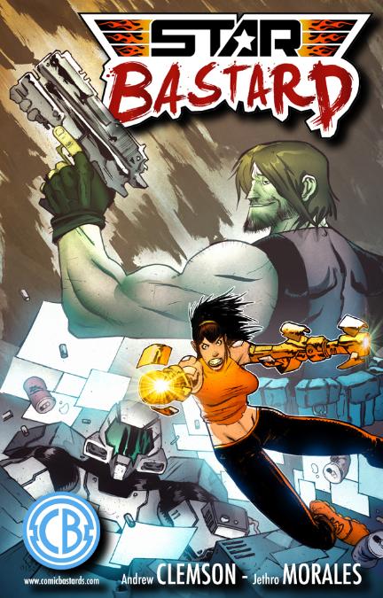 StarBastard Issue 2 Cover B - ComicBastards.com Exclusive