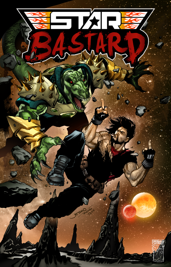 Cover C - Kickstarter Exclusive!
