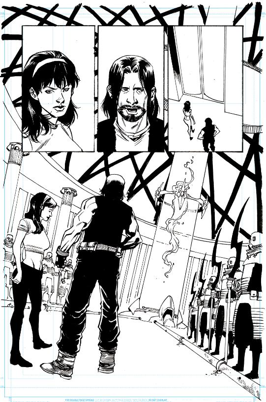StarBastard Issue 2, Page 6 Original Art