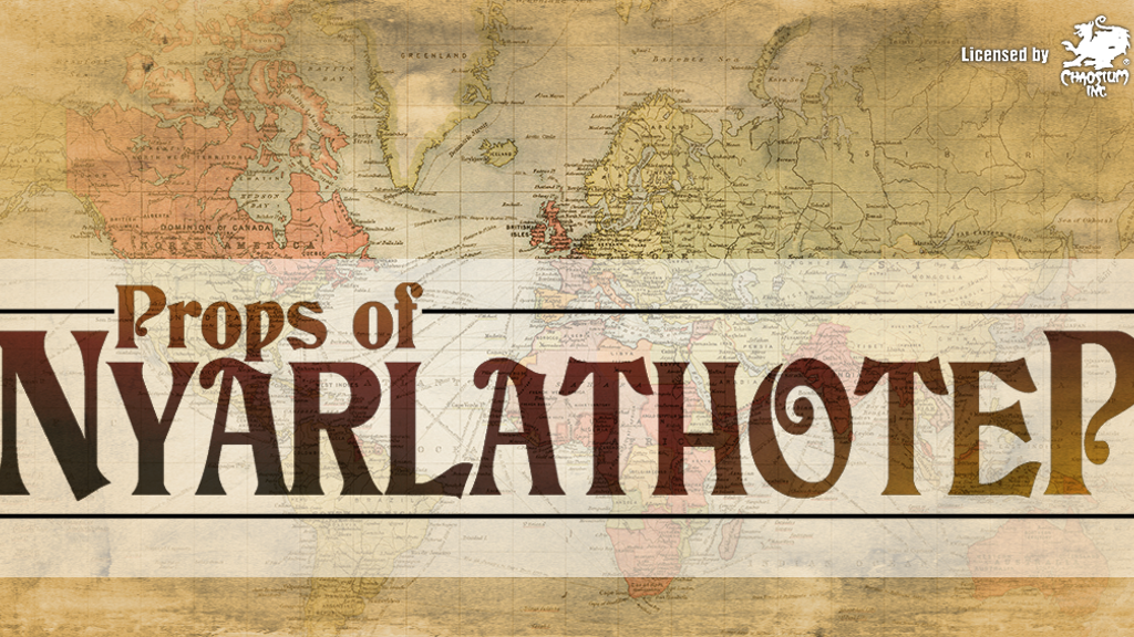 Props of Nyarlathotep : London and Cairo project video thumbnail
