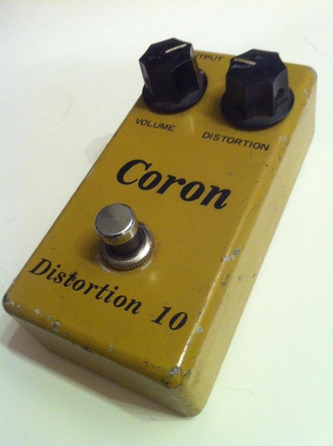Chris' vintage Coron Distortion