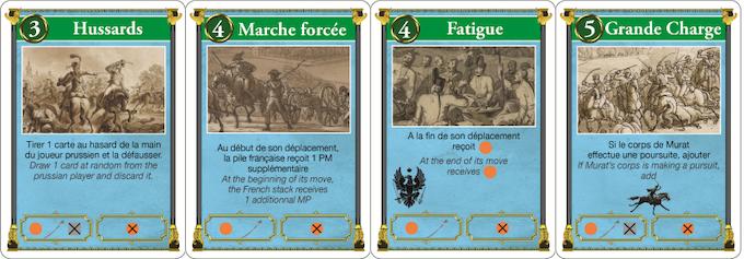 Cards - Cartes