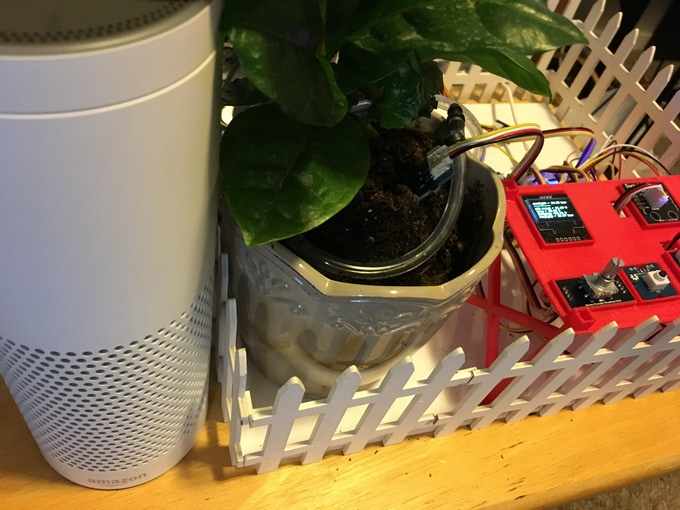 Alexa and Smart Plant Together Again