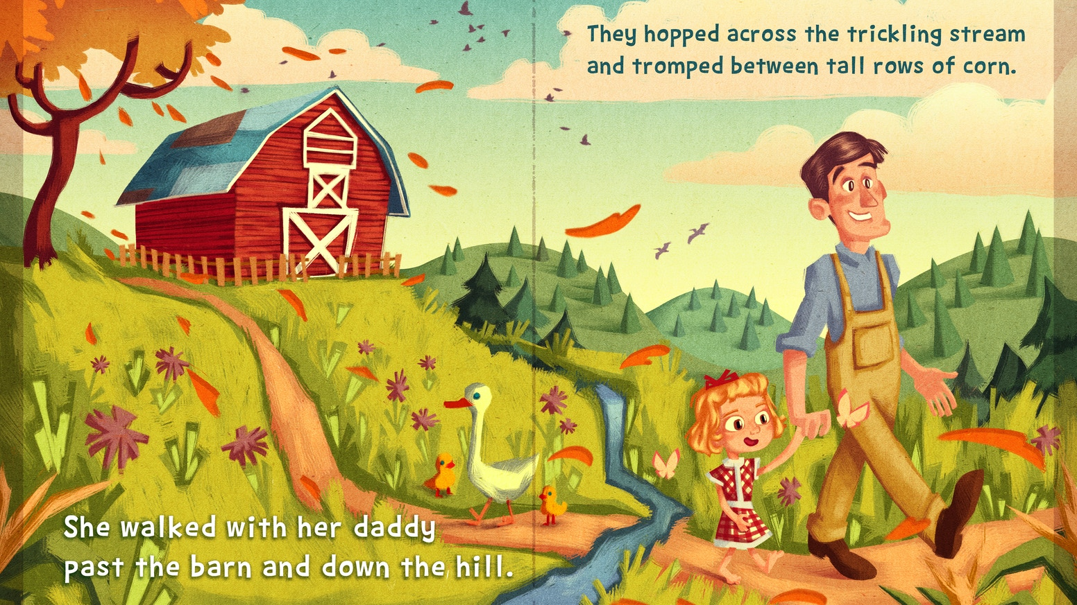 A children's book inspired by my grandmother, her childhood on a Tennessee farm, and her pluck and love of adventure
