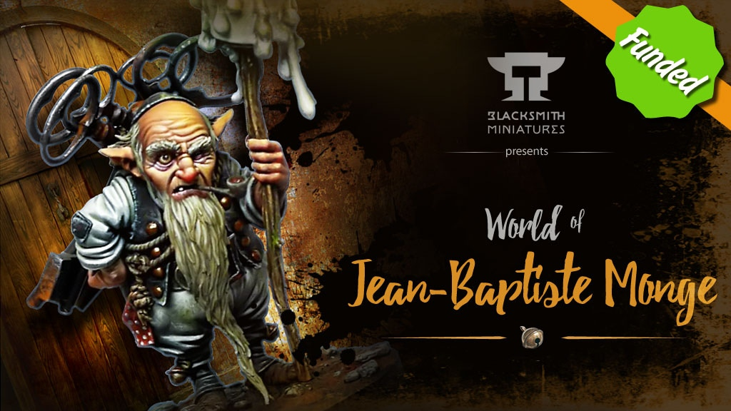 BLACKSMITH MINIATURES : World of Jean-Baptiste MONGE project video thumbnail
