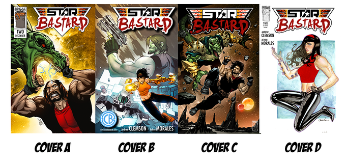 Issue 2 Variant Covers