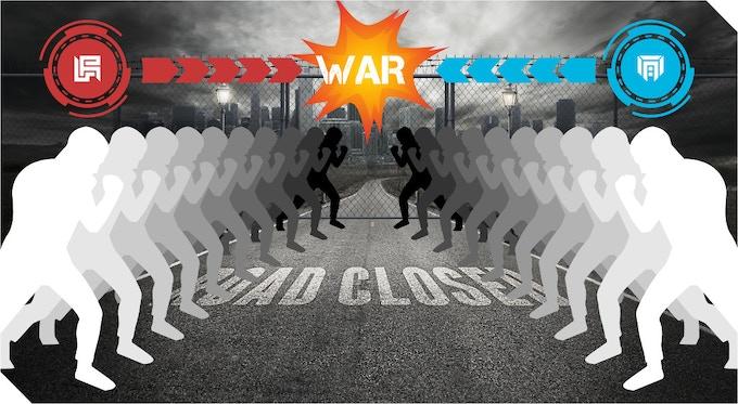10 vs 10 war