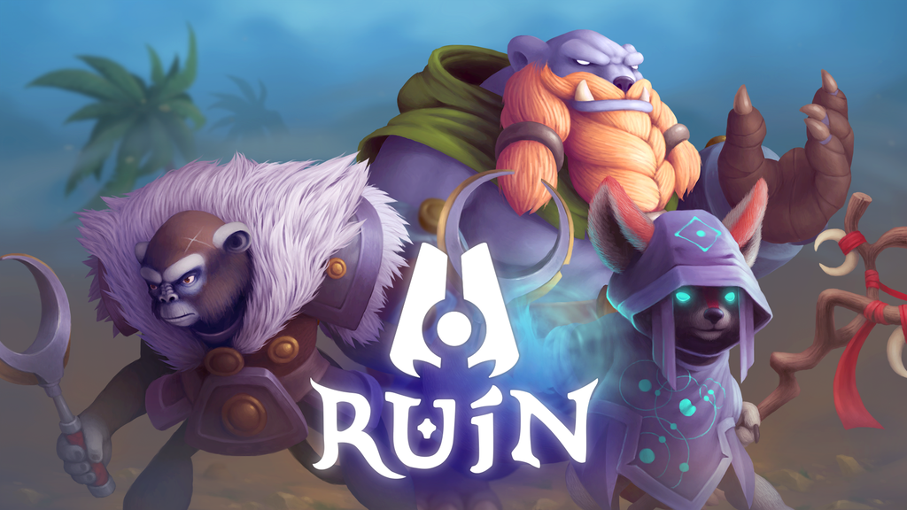 RUiN - Top-Down Arena Brawler project video thumbnail