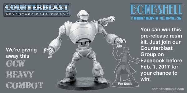 Win this great pre-release resin kit