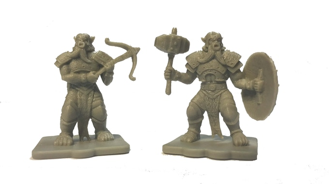 The Limited Edition Bugbear Expansion includes 20 figures - 10x each of the bugbear crossbow and hammer units