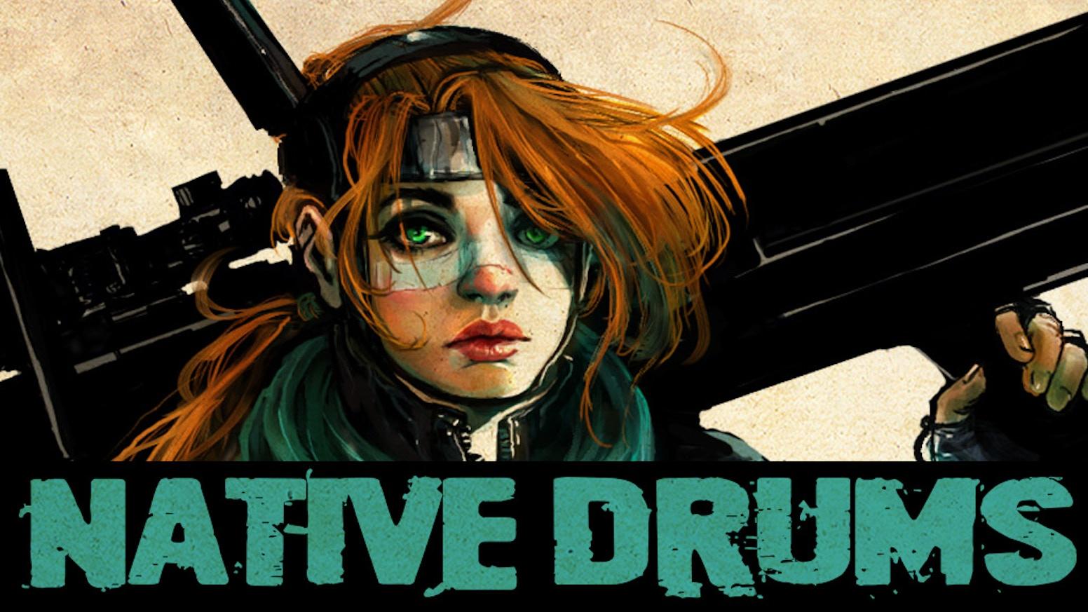 Native Drums - Volume 1 - Graphic Novel by Chuck Paschall — Kickstarter