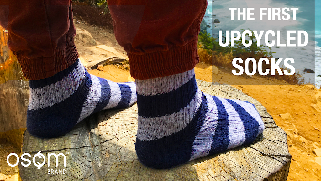 The First Upcycled, Zero Waste Socks - OSOM Socks! project video thumbnail