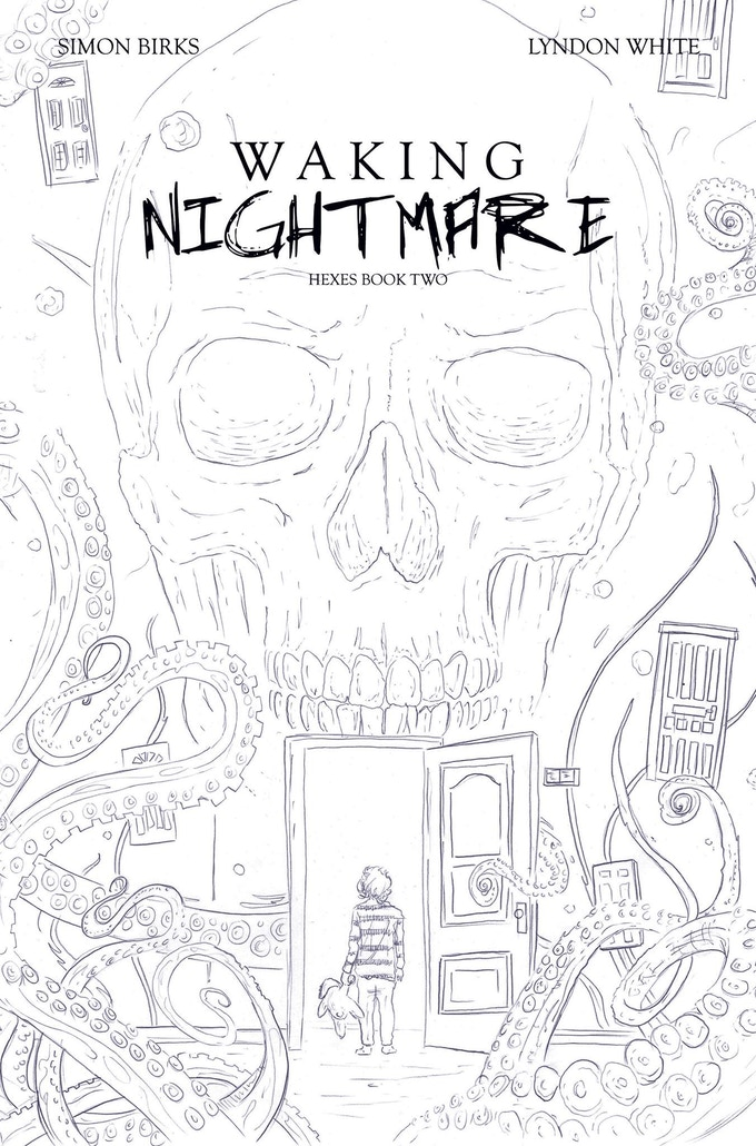 Hexes:Waking Nightmare Variant Cover