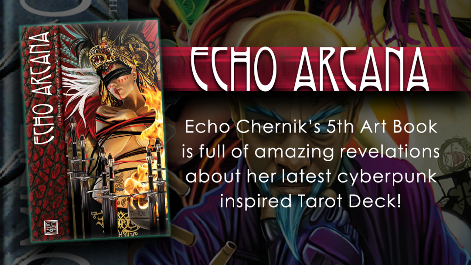 This is a collection of incredible Shadowrun art by Echo Chernik. It includes the vision and symbolism behind the SR Tarot and more.