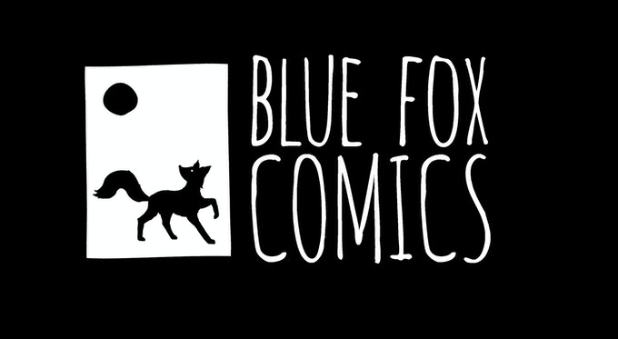 Blue Fox Comics Logo
