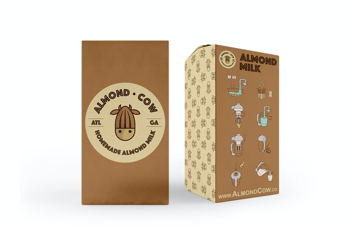 The Almond Cow