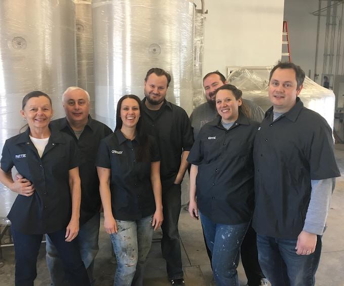Alloy Brewing Team