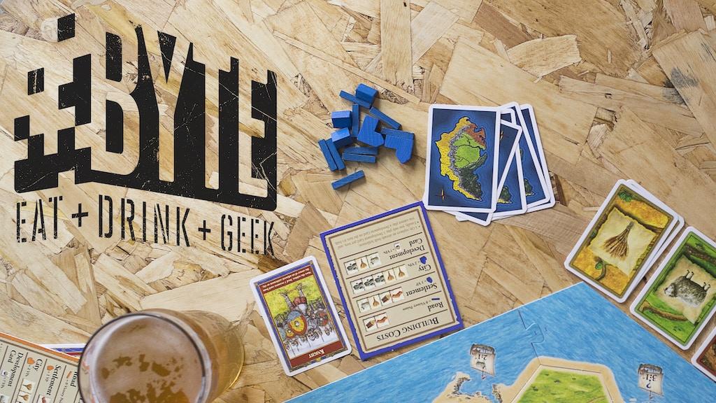 Byte street food inspired geek pub by travis shaw for Food s bar unloc