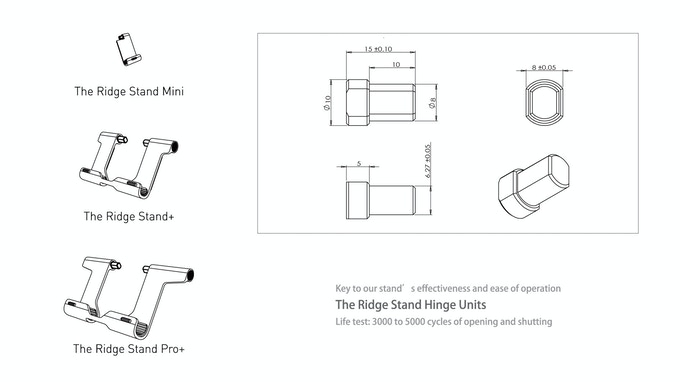 The Ridge Stand Plus: See eye to eye with your Apple