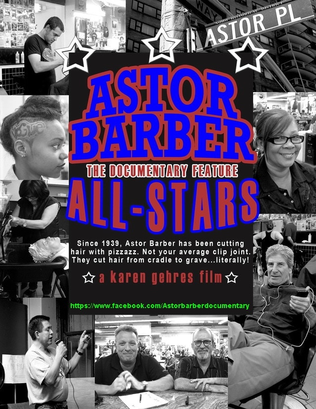 My 2nd doc ASTOR BARBER ALL-STARS