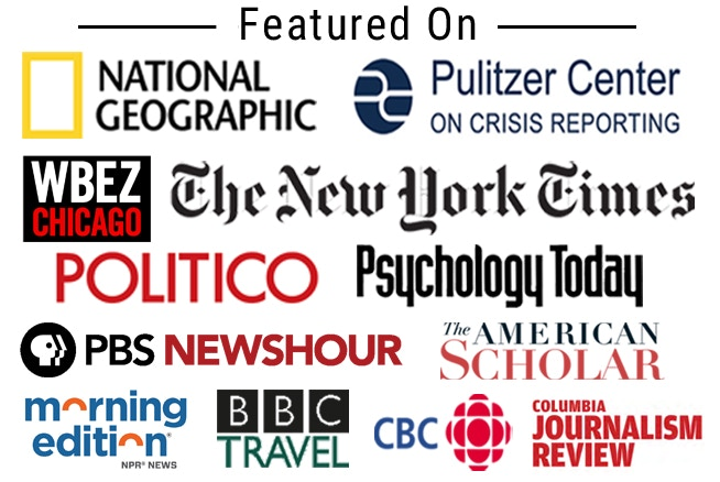 The Out of Eden Walk project has been featured by these media institutions, and many others, worldwide.