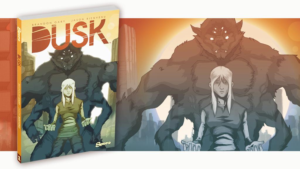 DUSK, A Graphic Novel project video thumbnail
