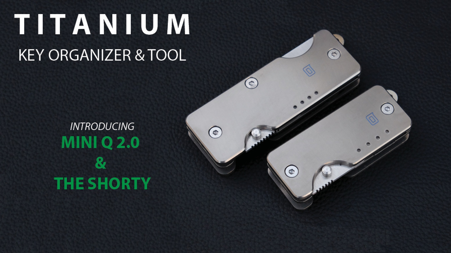 Titanium Key Organizer & Knife for your Everyday Carry! by