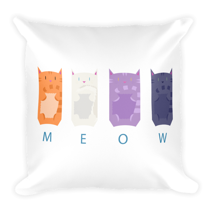 Front: MEOW!