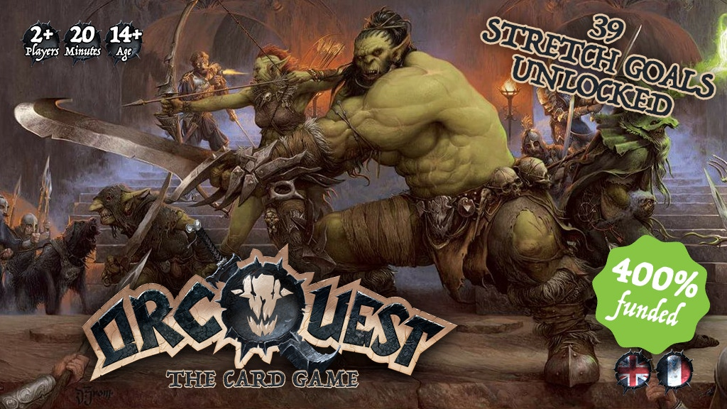 ORCQUEST The Card Game project video thumbnail