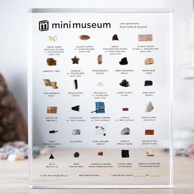 Large Third Edition Mini Museum (29 Specimens)