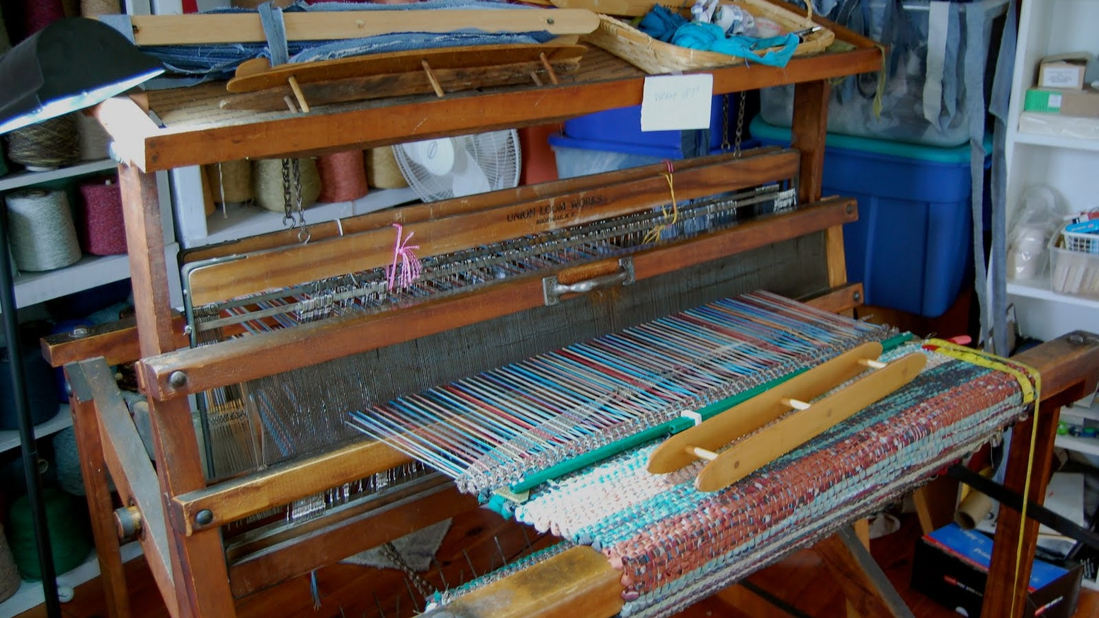 Rag Rug Loom By Kimberly Thomas Kickstarter