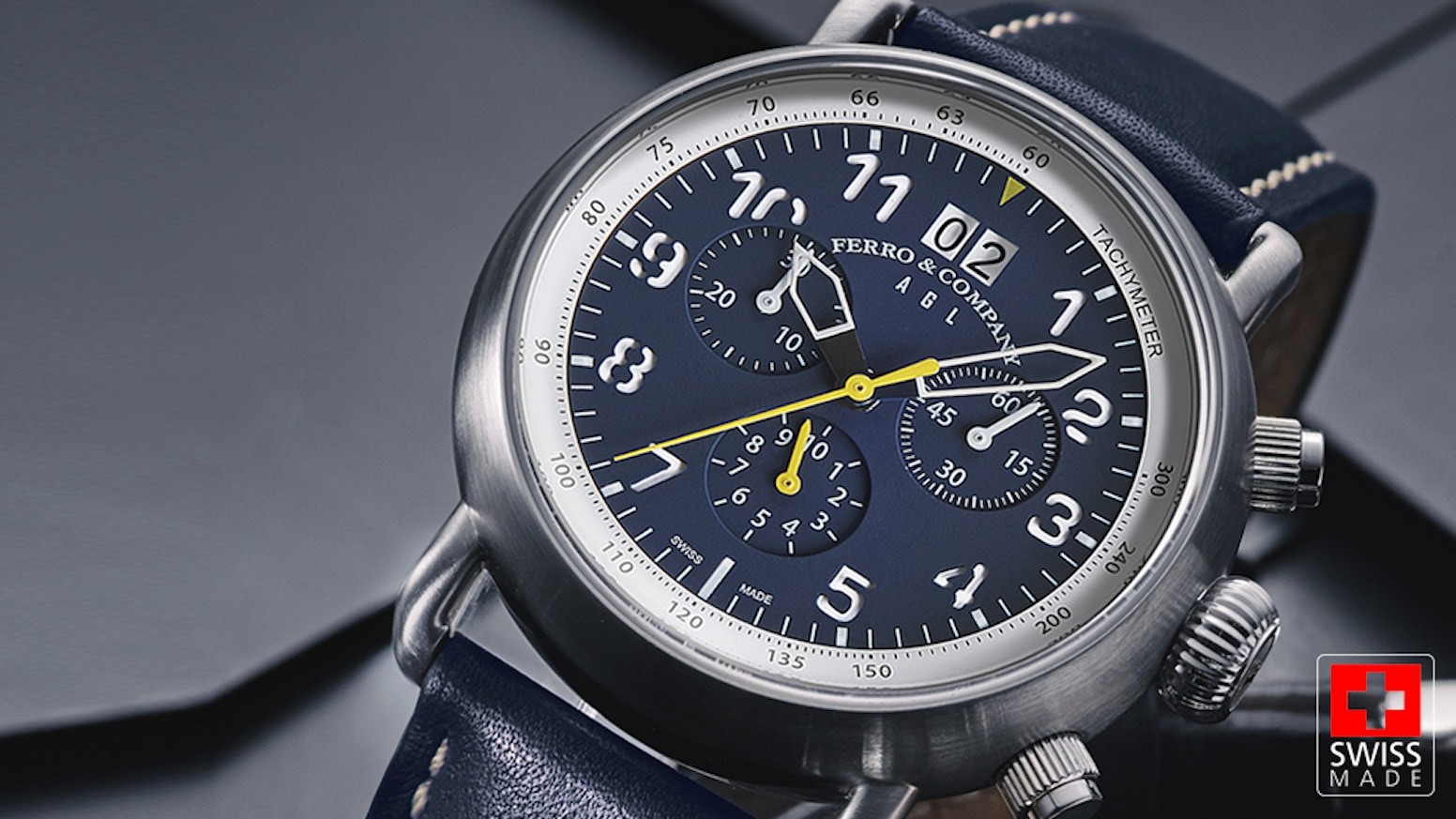 Redefining swiss made pilot watches by ferro by nil kickstarter for Swiss made watches