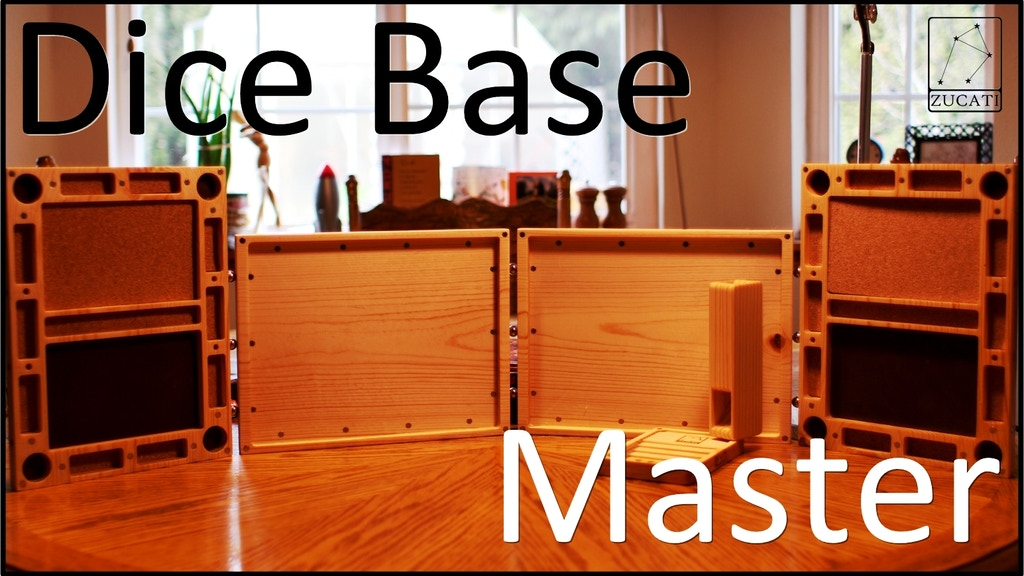 Dice Base: Master - Magnetic Game Screen - RPG and Tabletop project video thumbnail