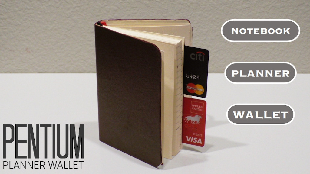 The Pentium Planner Wallet   Planner-Notebook-Wallet in 1! project video thumbnail