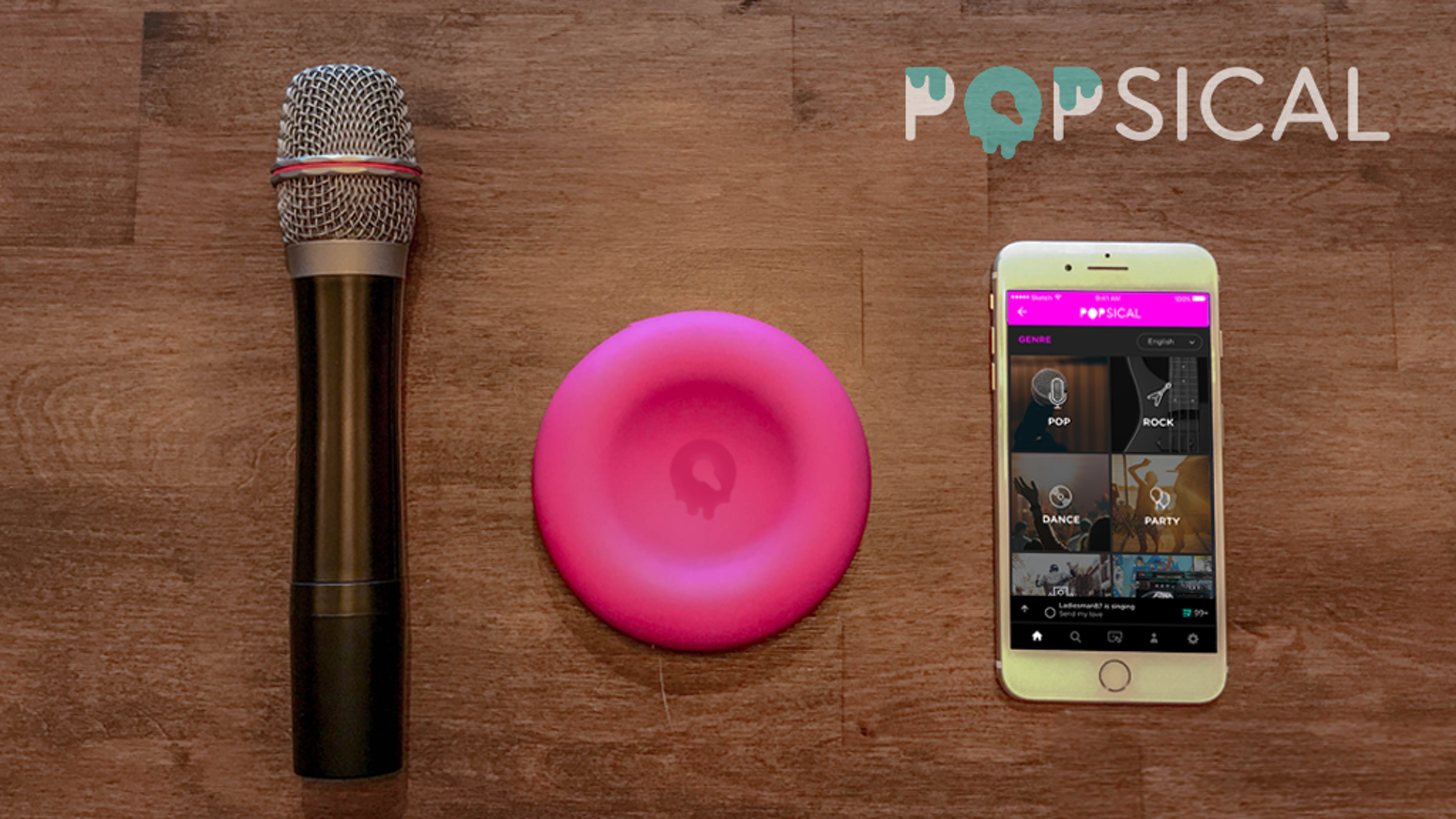 Popsical The Smartest Smallest Streaming Karaoke System