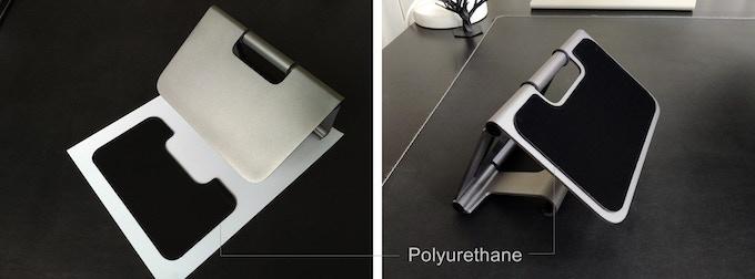 Sticky polyurethane pad for the Ridge Pro+