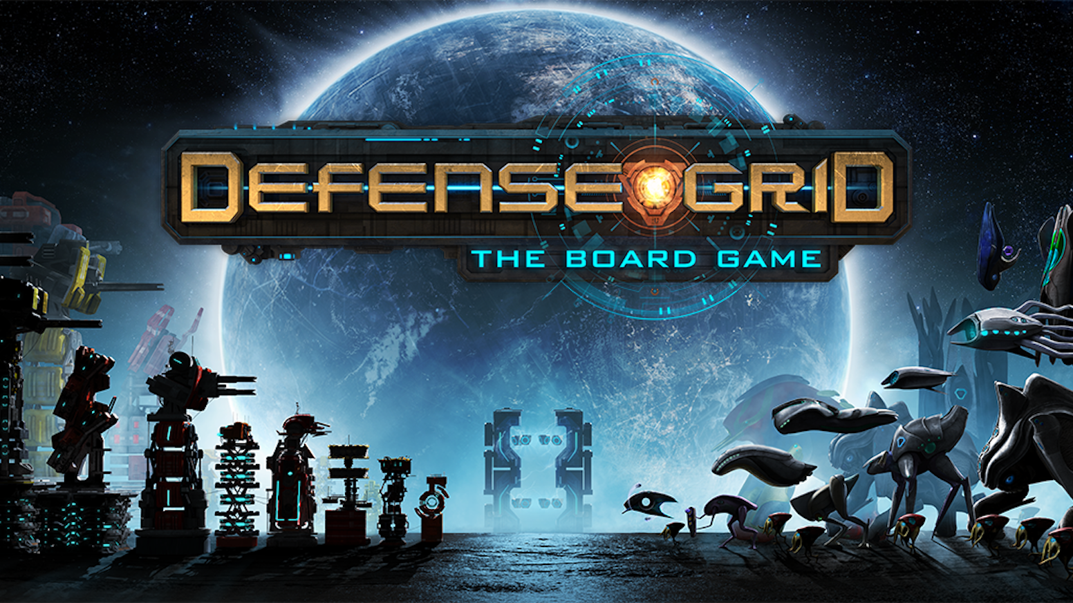 A Cooperative, Deck Building, Tower Defense board game, for 1 to 4 players with 77 miniatures in every box.