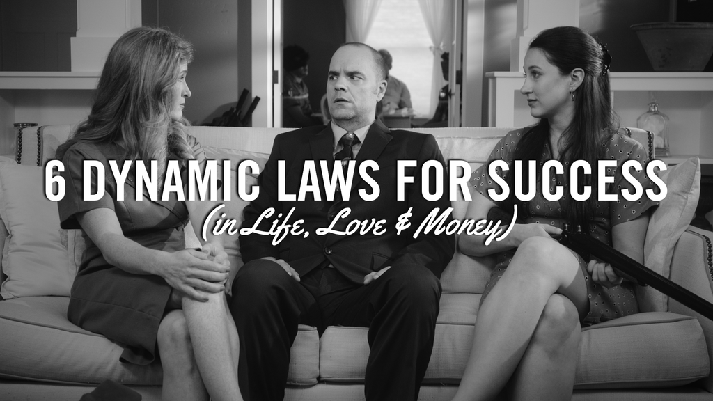 "Finishing ""6 Dynamic Laws for Success"" A Noir Comedy project video thumbnail"